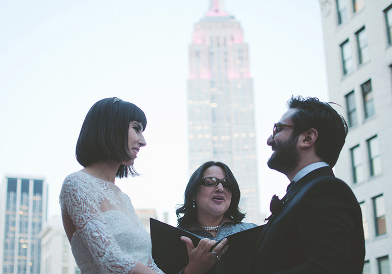 NYC Toshi Lounge elopement