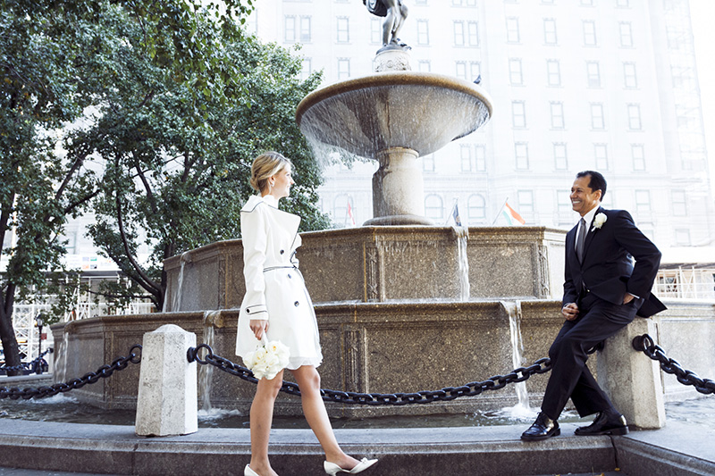 New York City Central Park Elopement