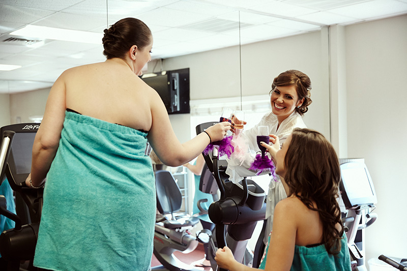 HYATT House wedding preparation