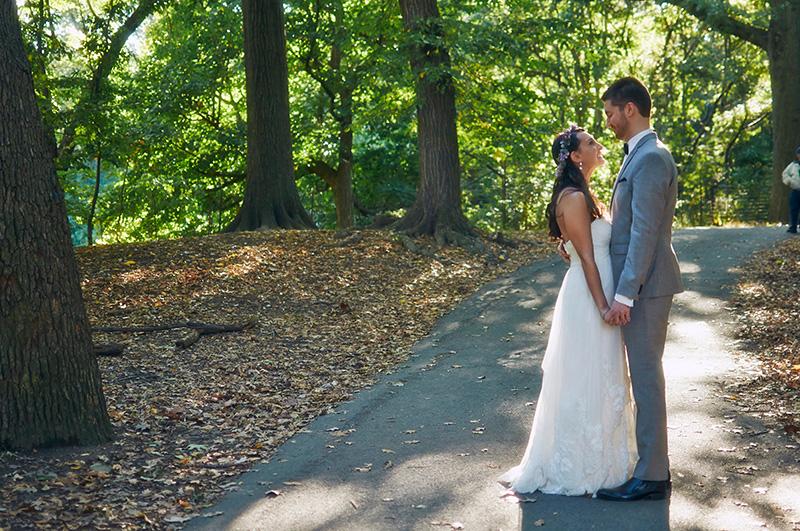 Prospect park picnic house wedding