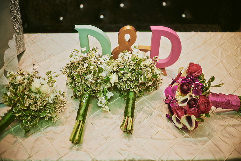 wedding table letters
