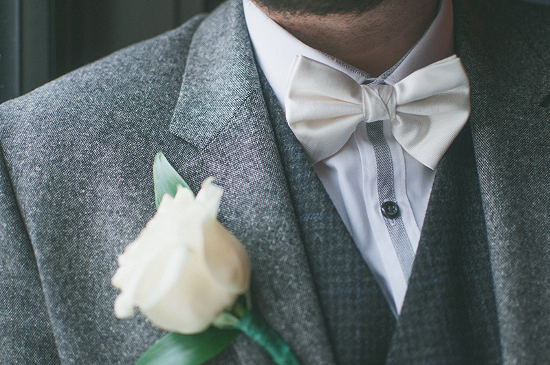 Wedding boutoniere