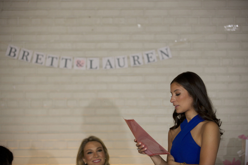 bridal shower speech