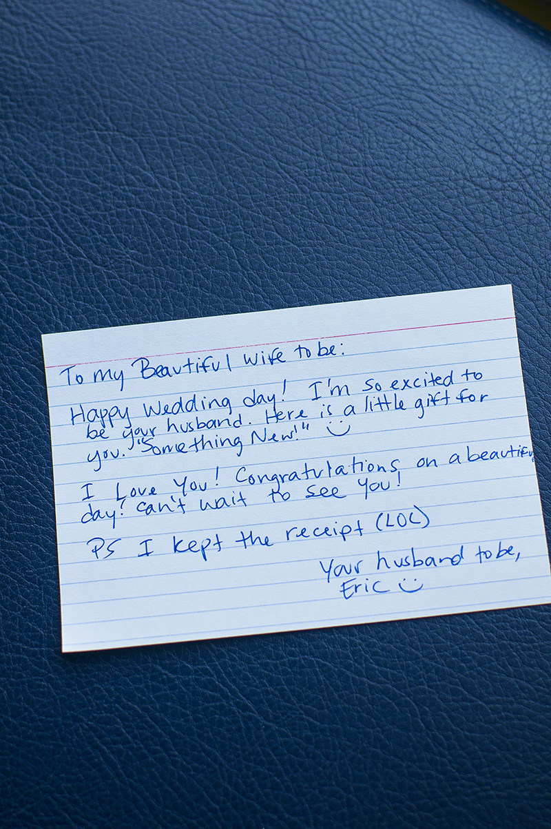 groom note
