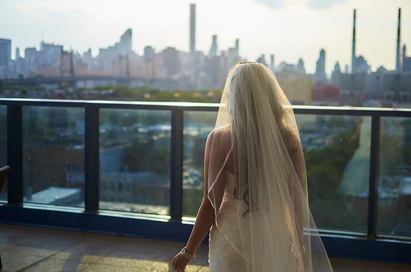 rooftop wedding photos