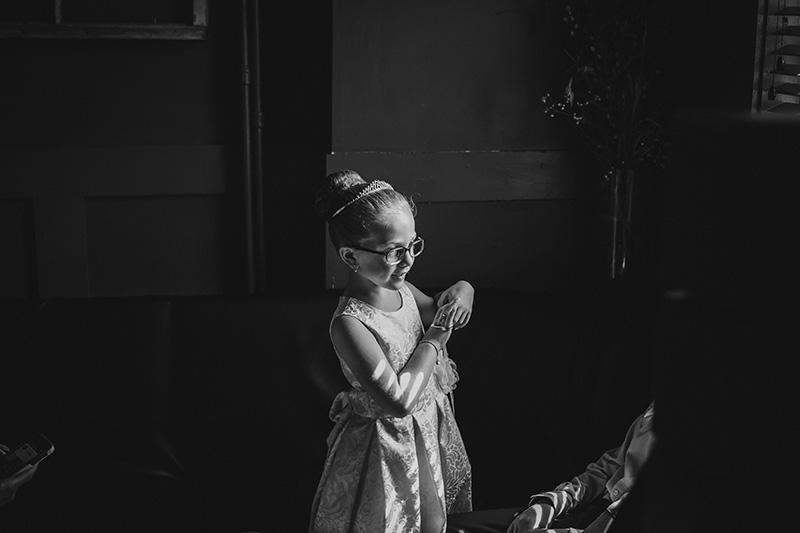 black and white wedding
