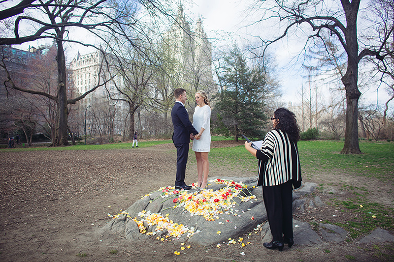 strawberry fields elopement ceremony