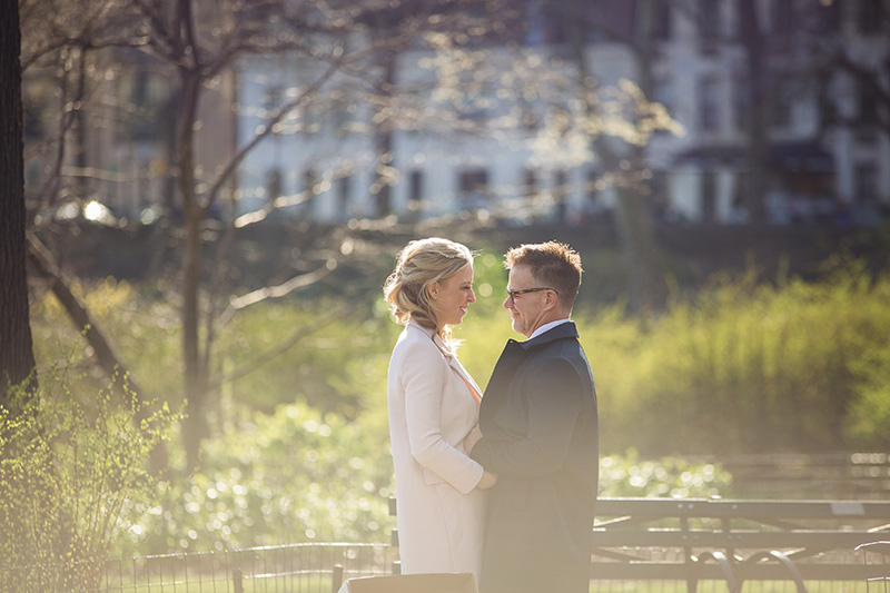 beautiful central park elopement photos