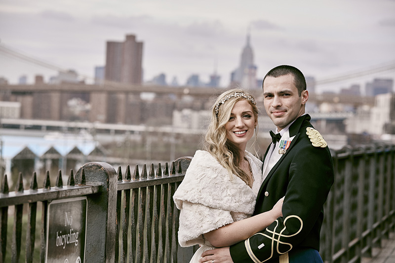 brooklyn bridge promenade wedding