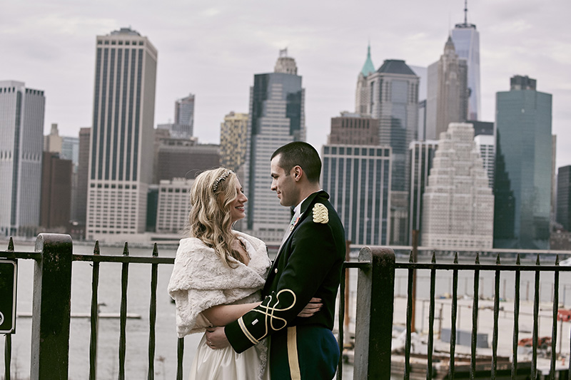 brooklyn heights promenade wedding