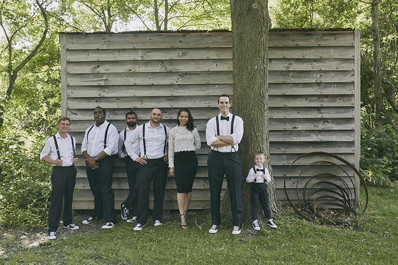 funny groomsmen photo