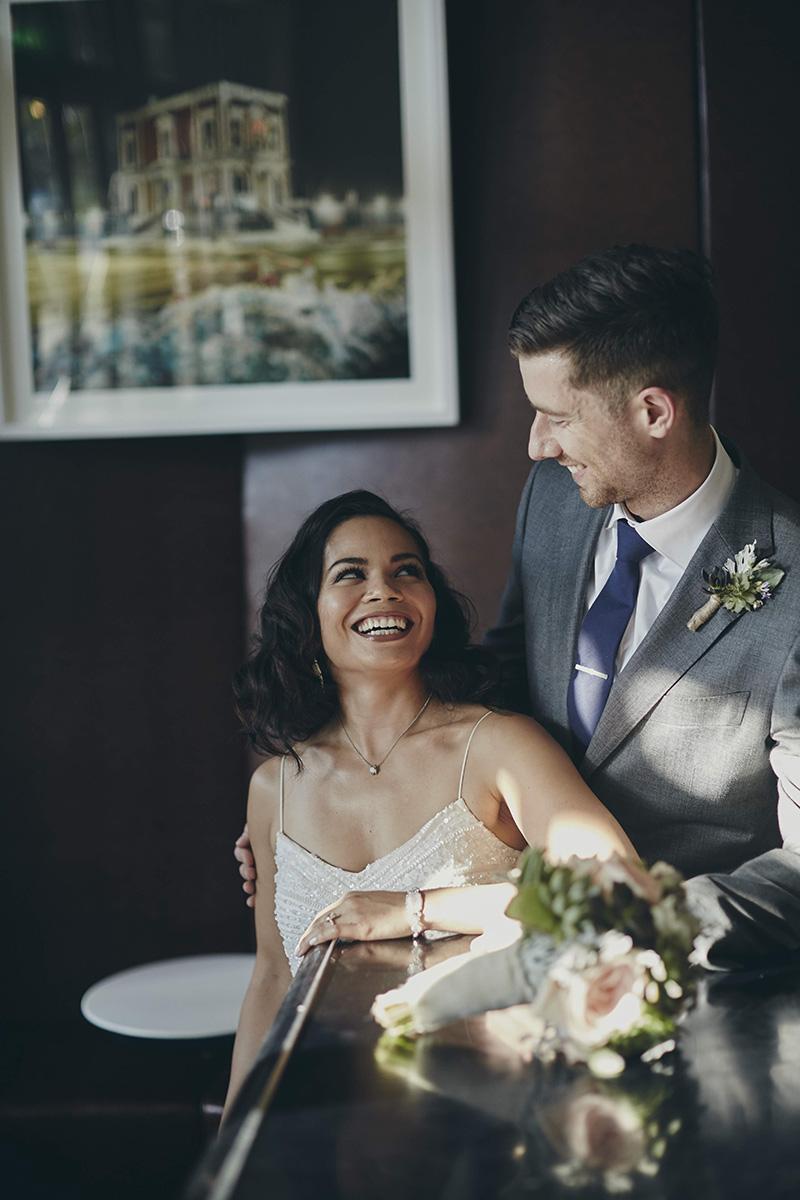 NU Hotel wedding