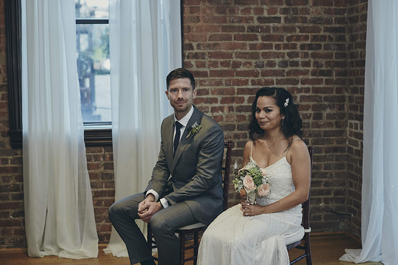 wedding ceremony at Deity