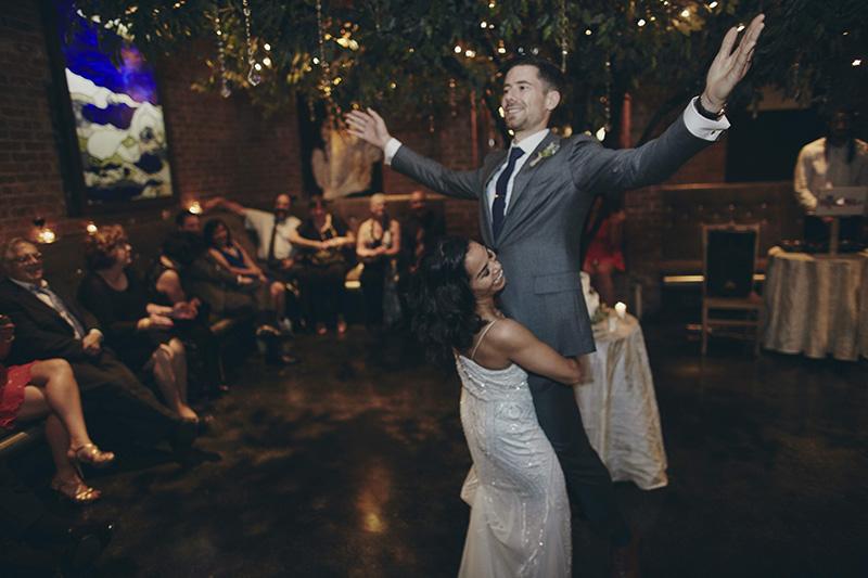 funny first wedding dance