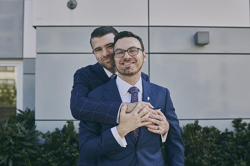 same sex wedding photography poses