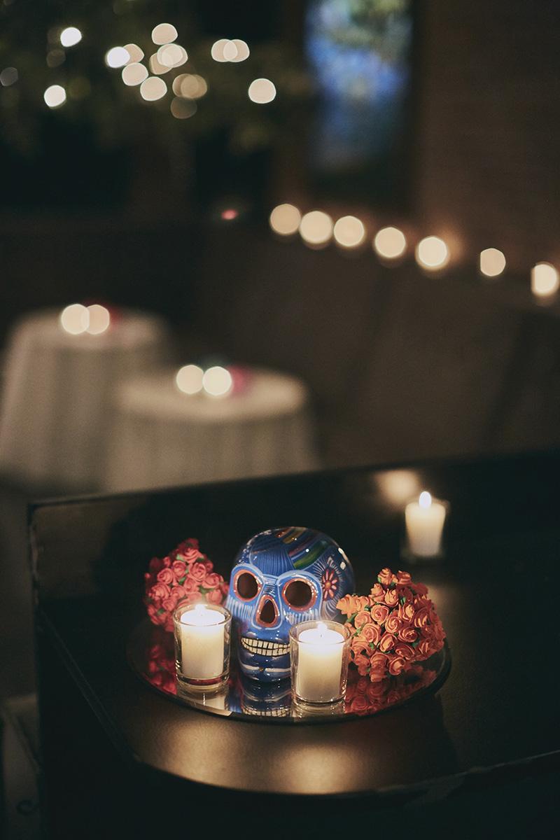 wedding skulls