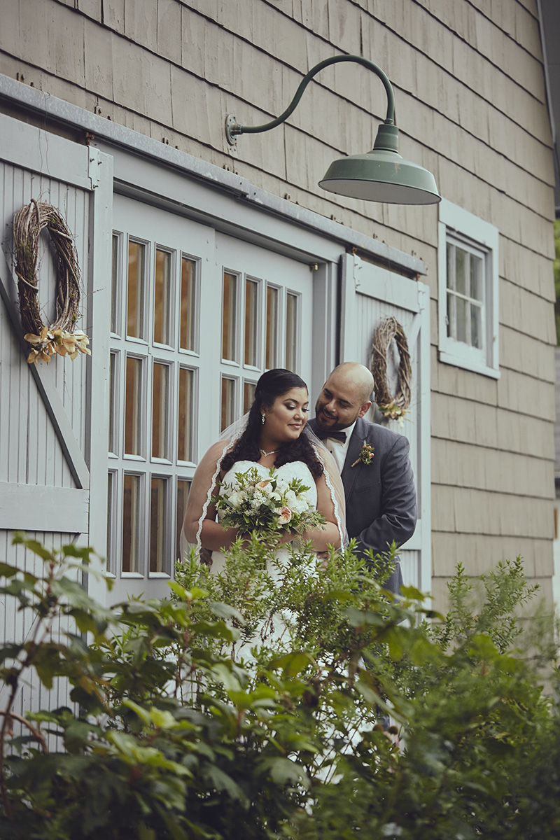 Rustic Wedding Portraits Queens County Farm Barn