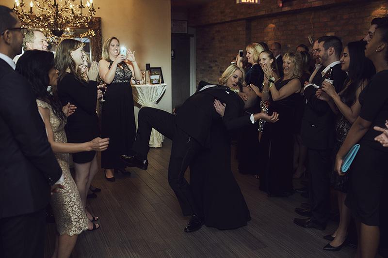 crazy wedding receptions