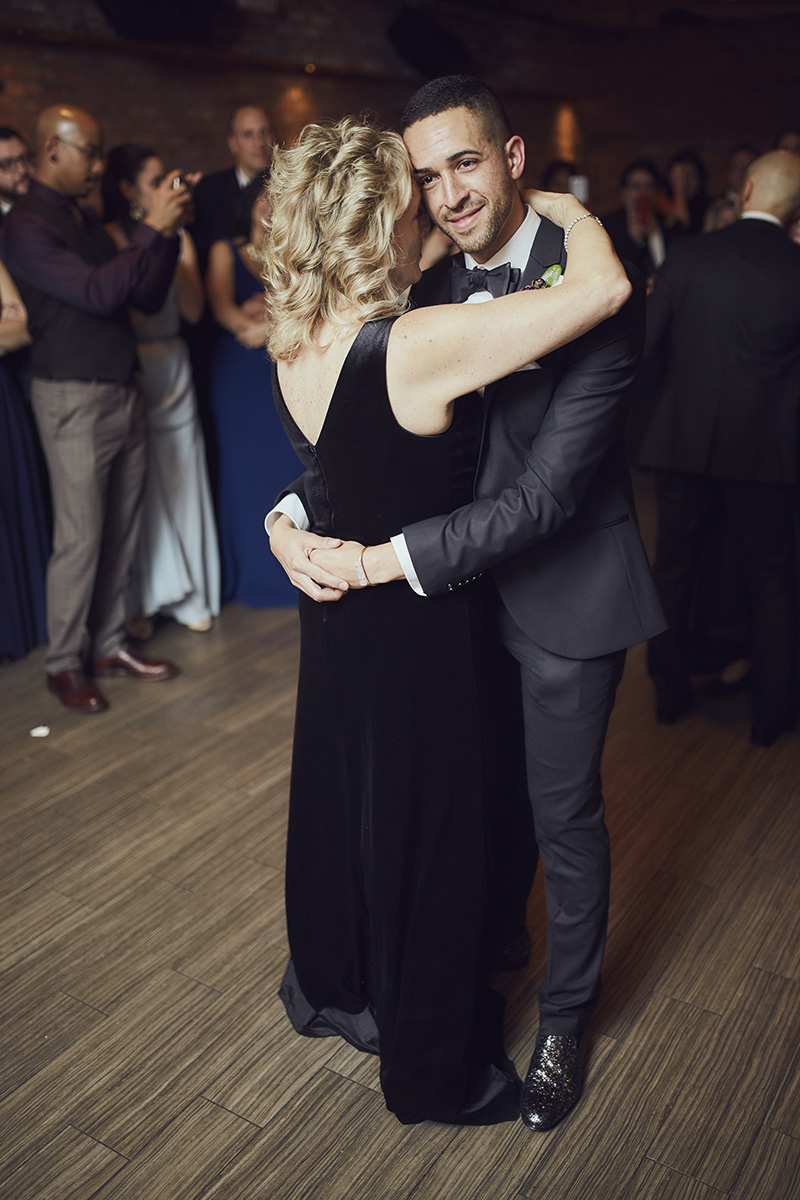 parents dance