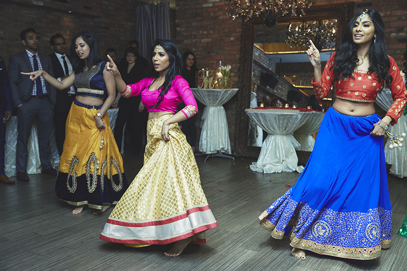 Indian wedding dance