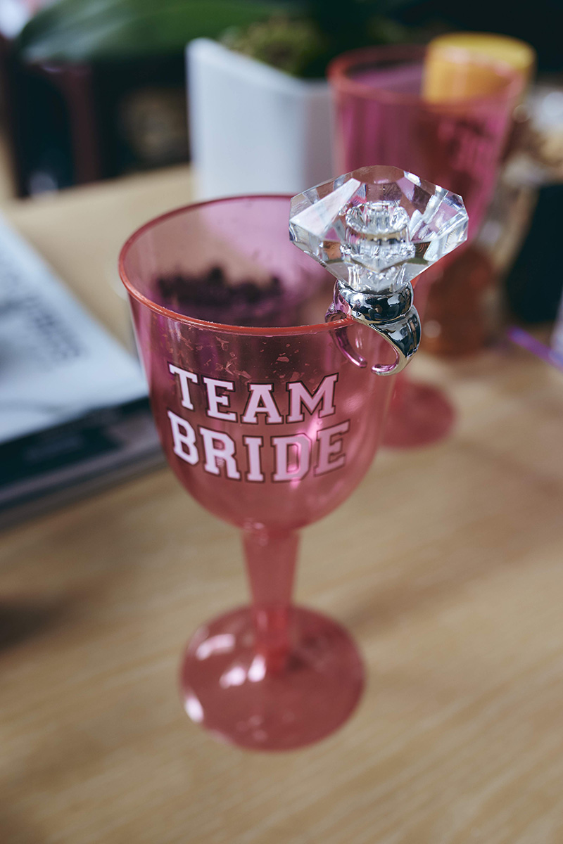 team bride custom cup
