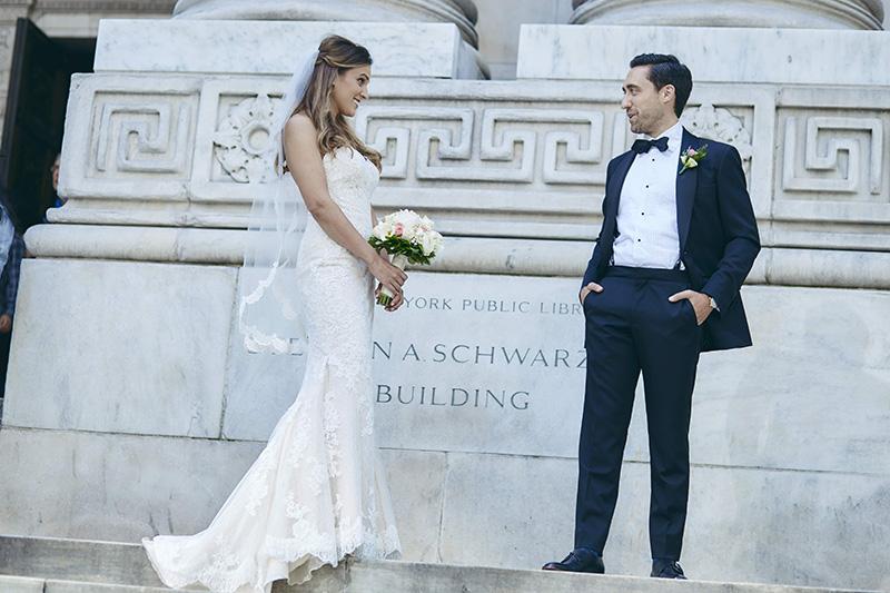 NYC Public Library wedding