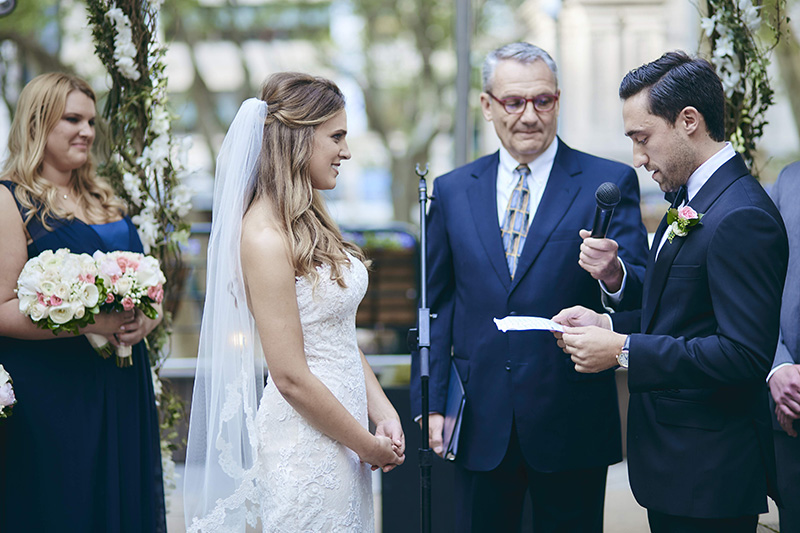 groom's personal wedding vows