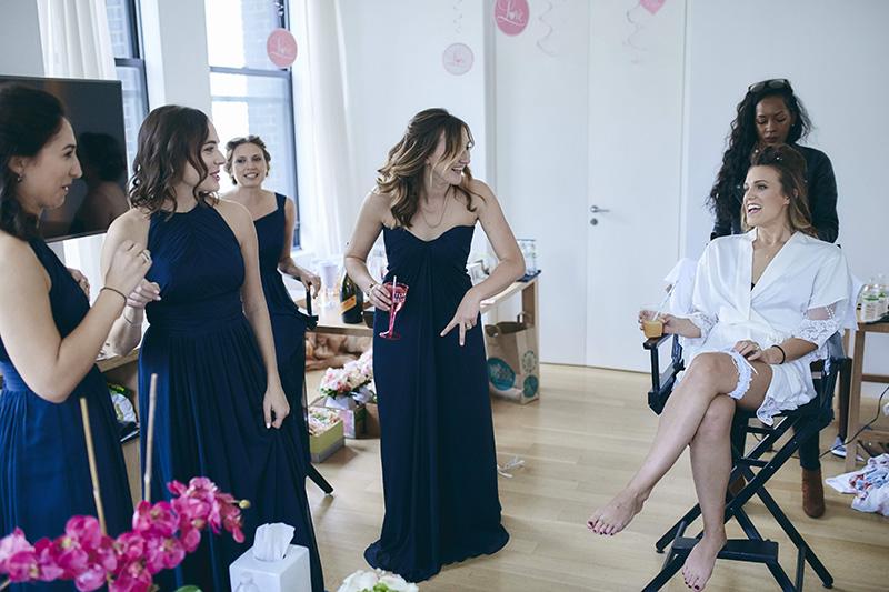 bridesmaids candid photos