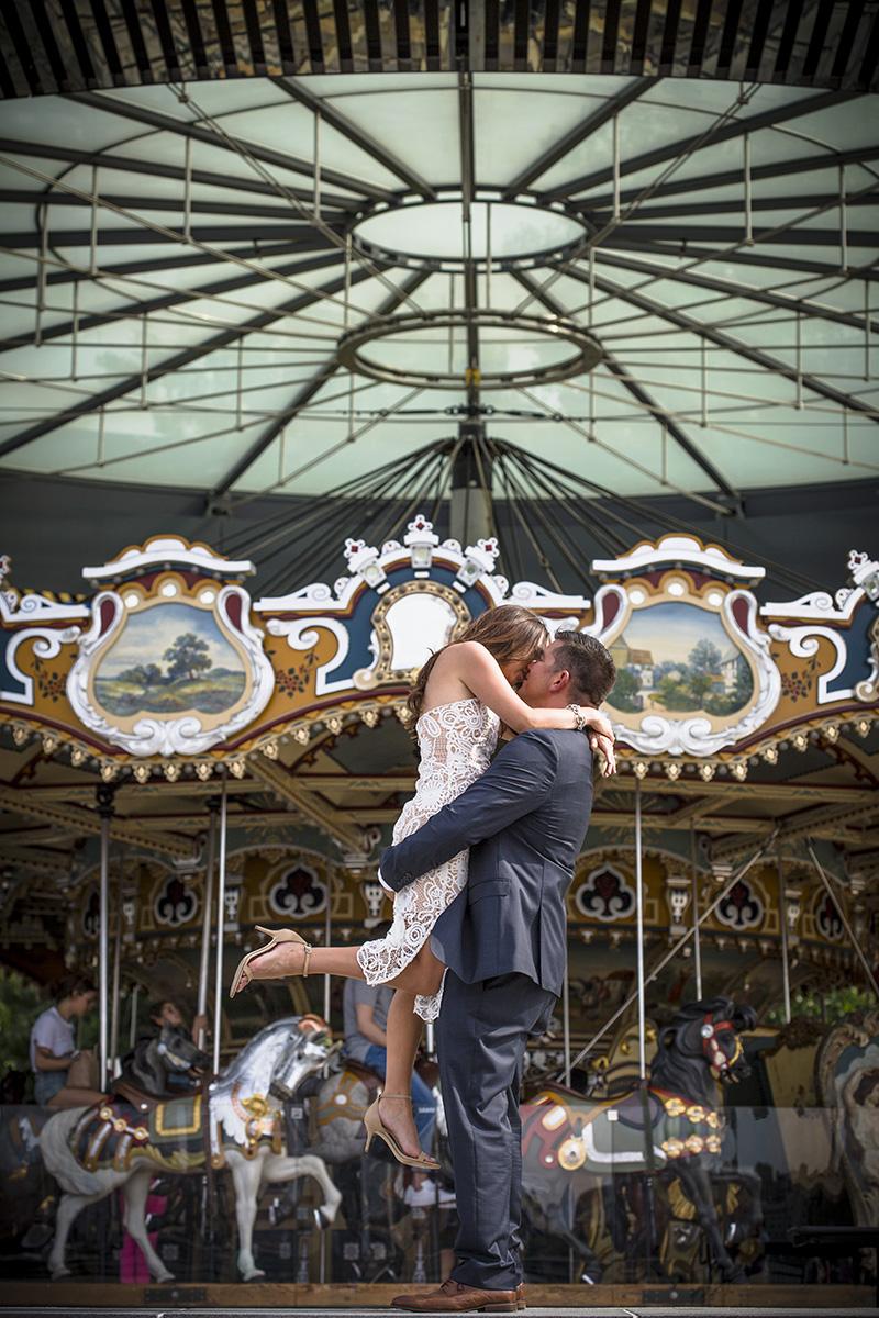 Jane's carousel wedding