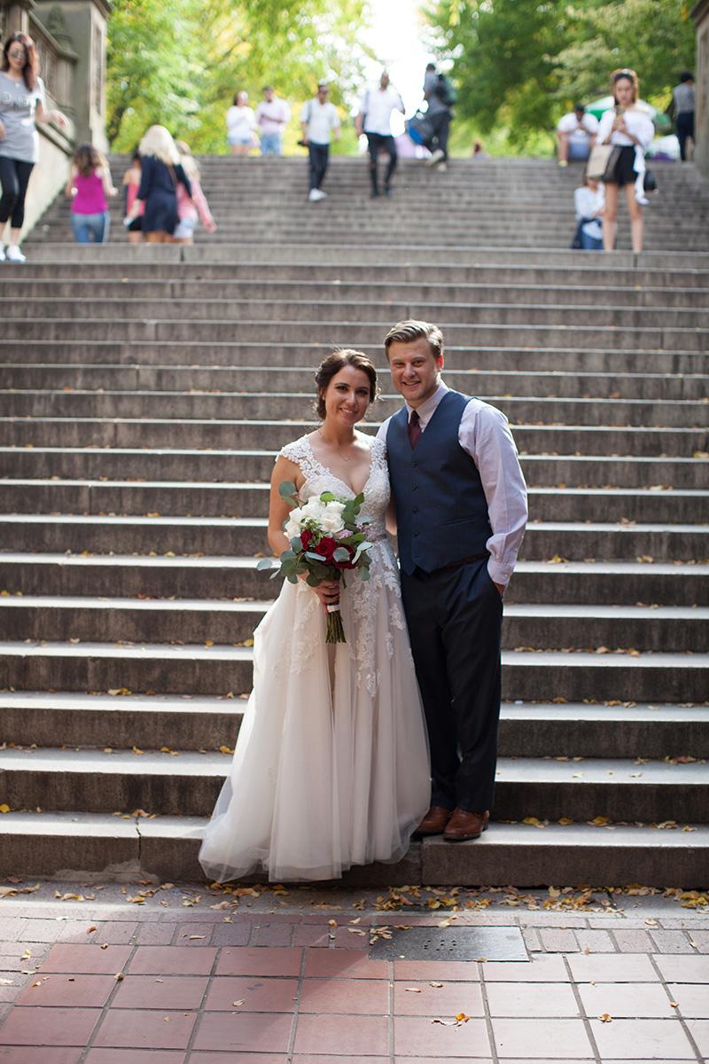 Central Park elopement photographer