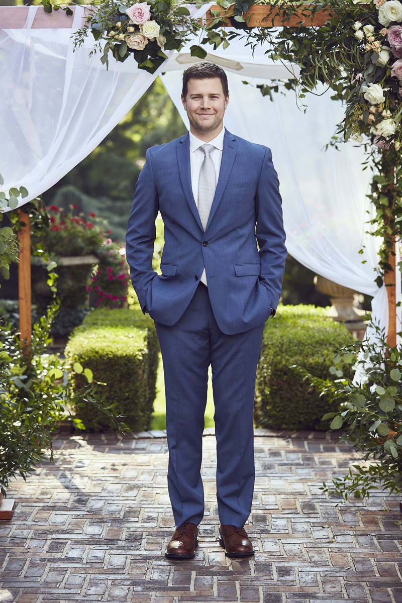 groom standing