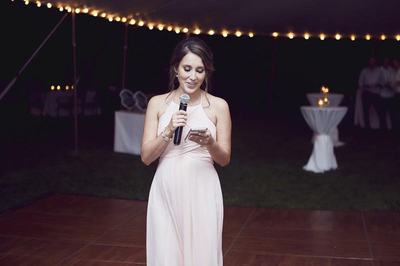 bride maid toast