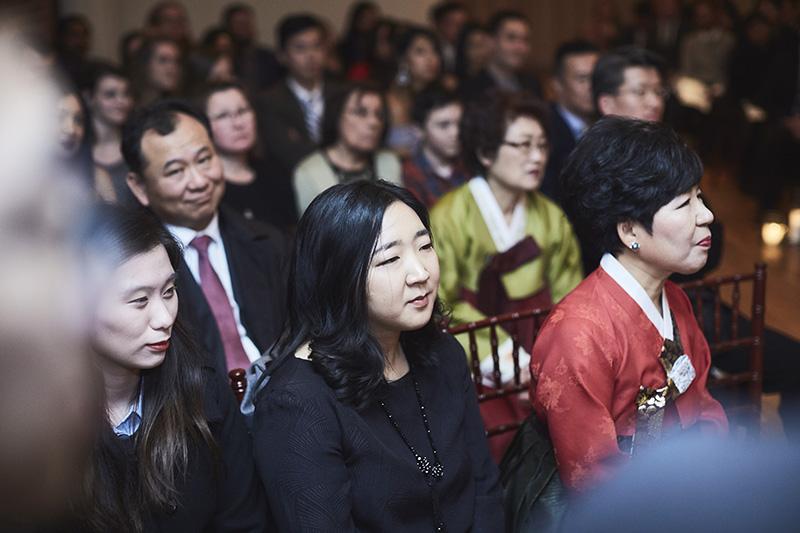 wedding ceremony guests