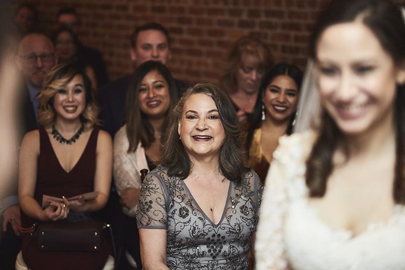 wedding guests