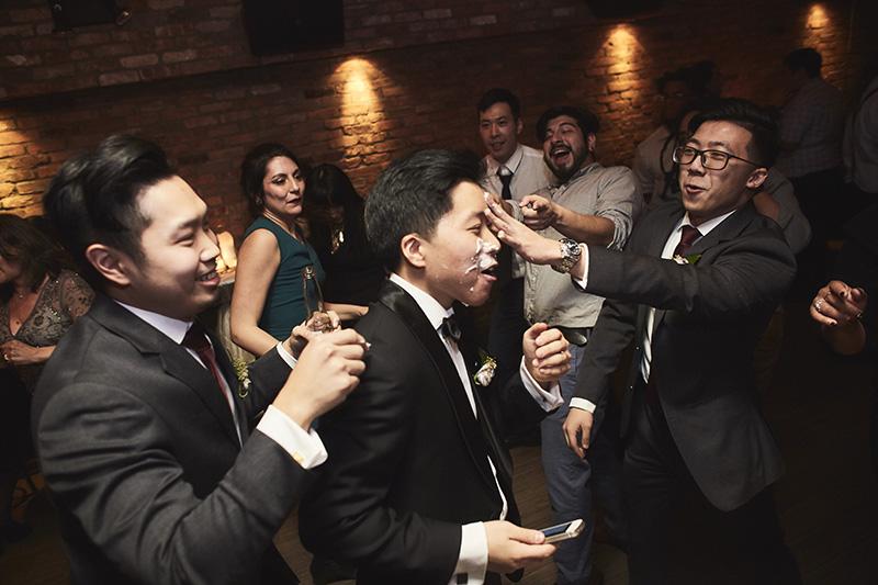 korean wedding reception