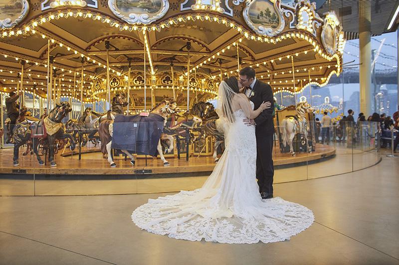Janes carousel wedding