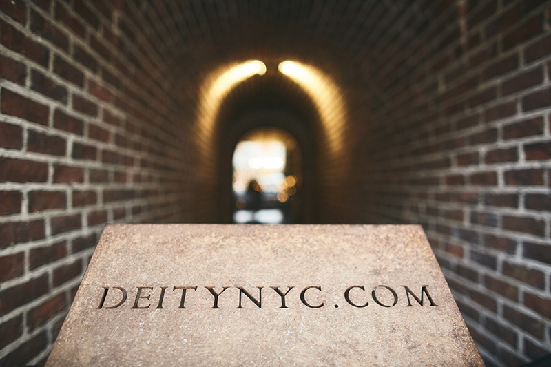 Deity entrance
