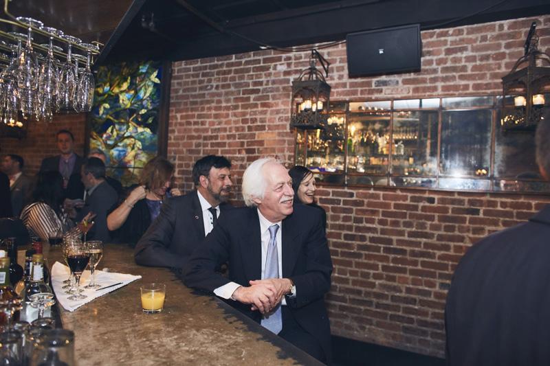 guests at  Deity Brooklyn Wedding