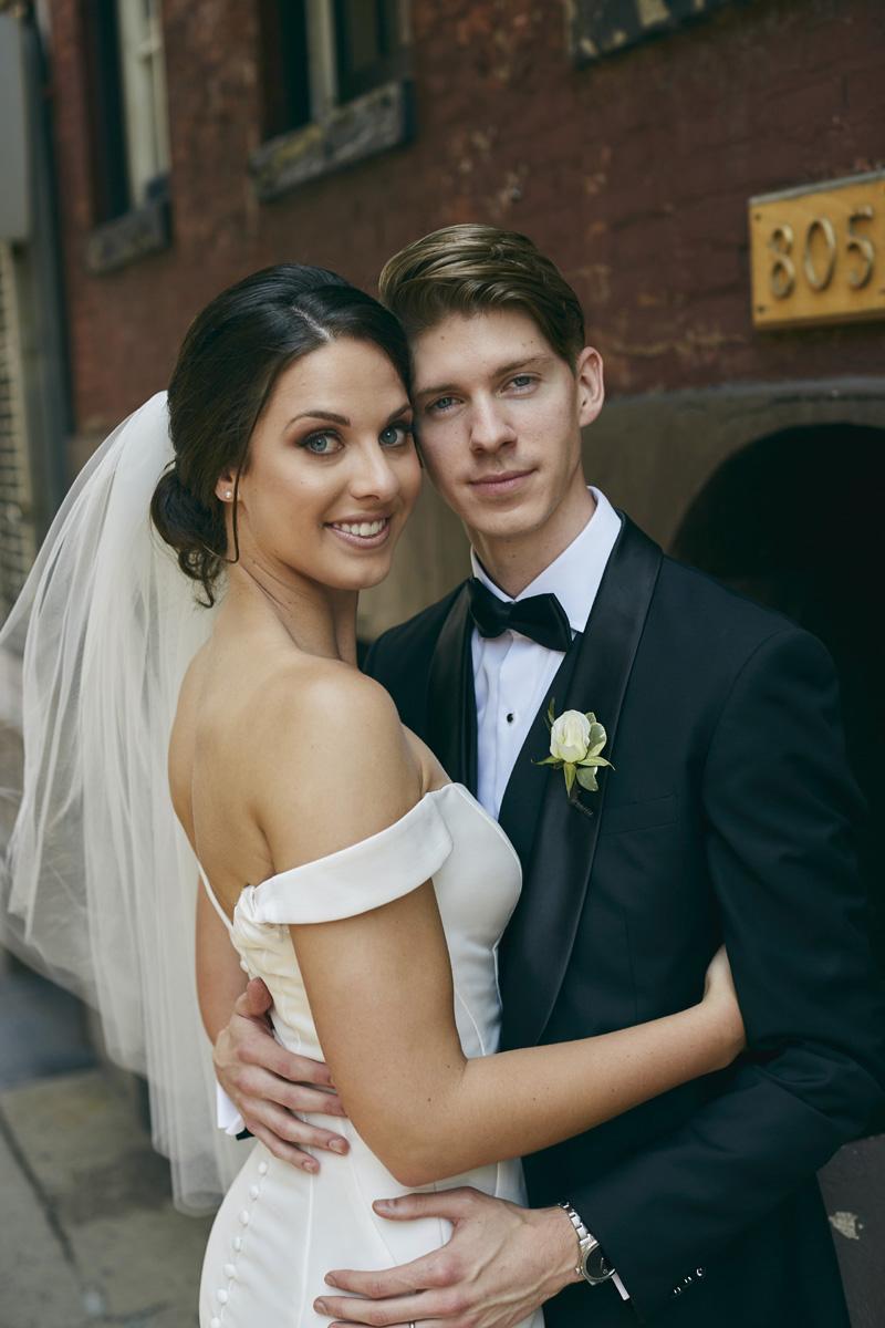 NYC wedding portraits