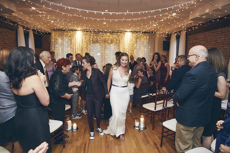 same sex wedding ceremony recessional
