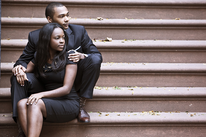 P&E New York Engagement Photography