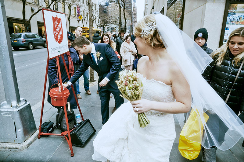 salvation army wedding donation