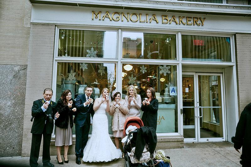 magnolia bakery wedding