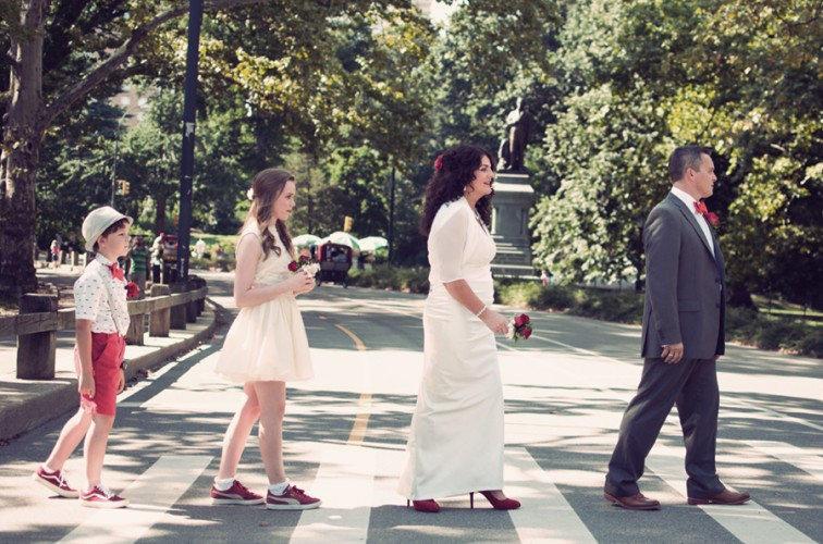 Angela & Jeff, Central Park New York Elopement Photography