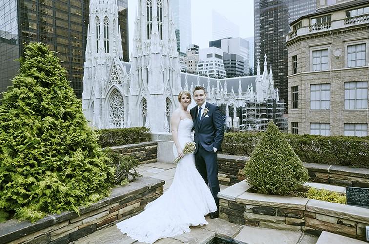 Chloe & Julian, Rockefeller Center Elopement
