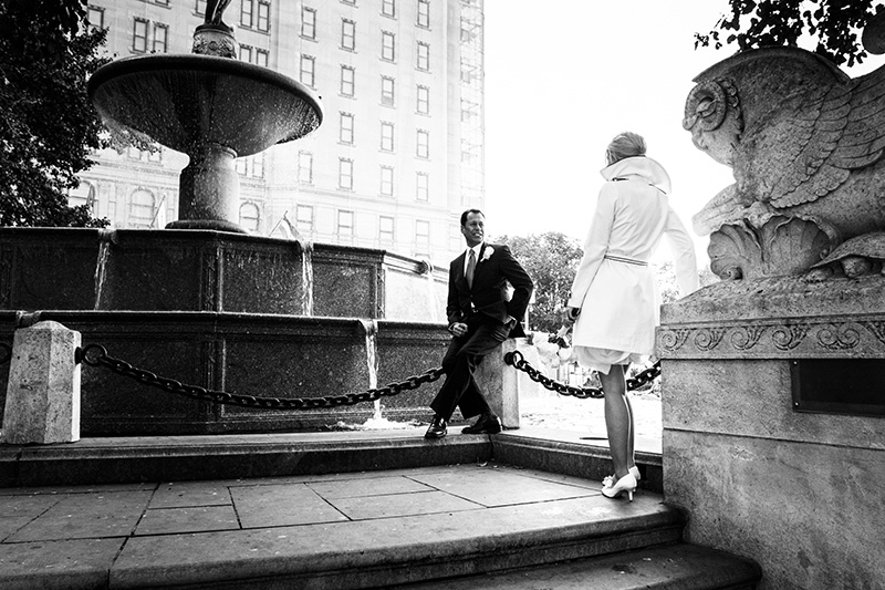 New York City Central Park Elopement