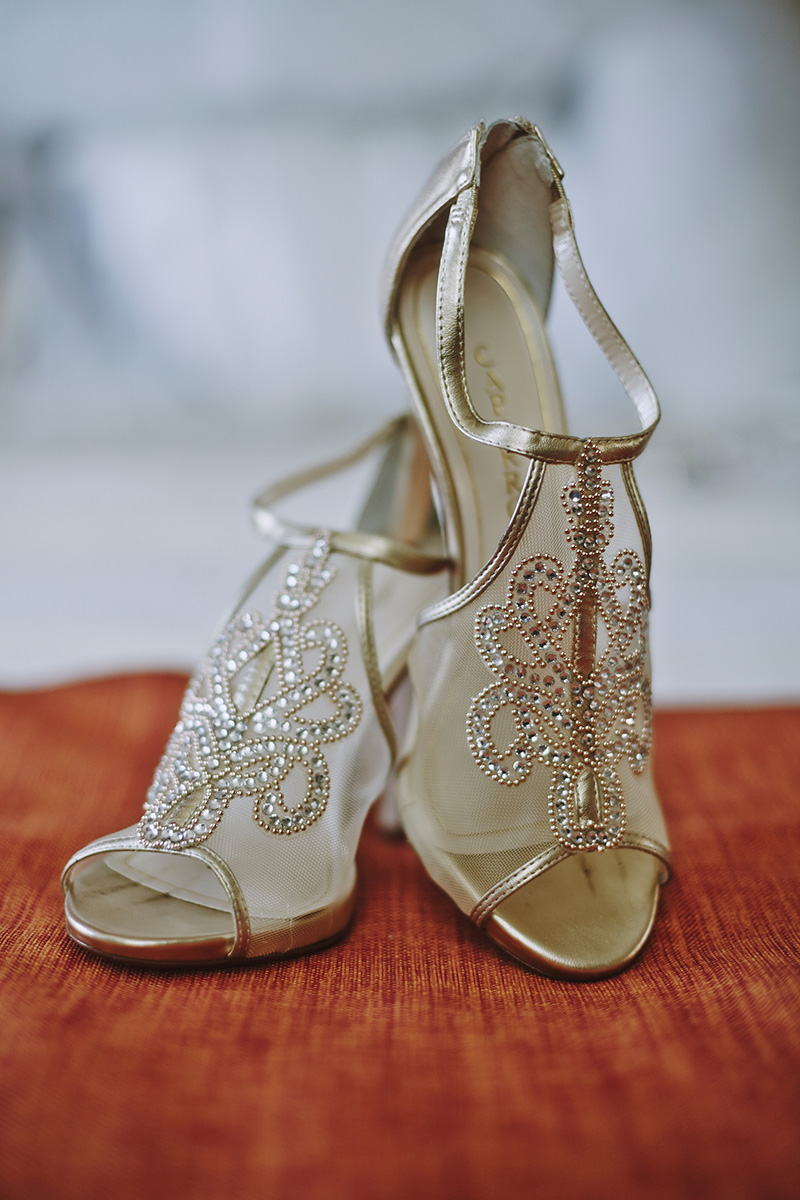 Pakistani wedding shoes
