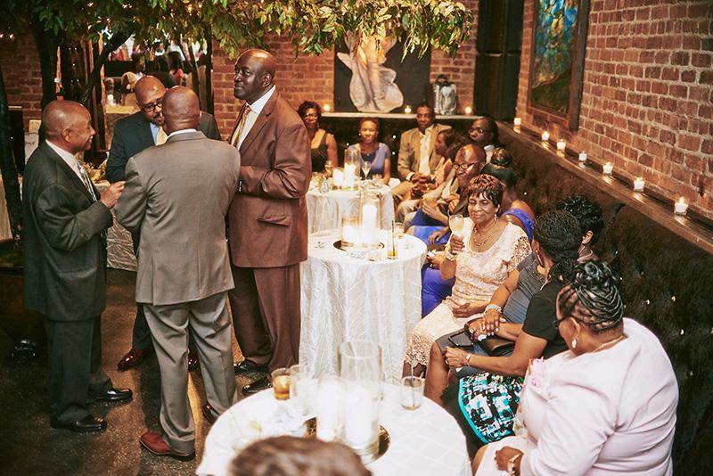 Deity Brooklyn Wedding cocktail hour