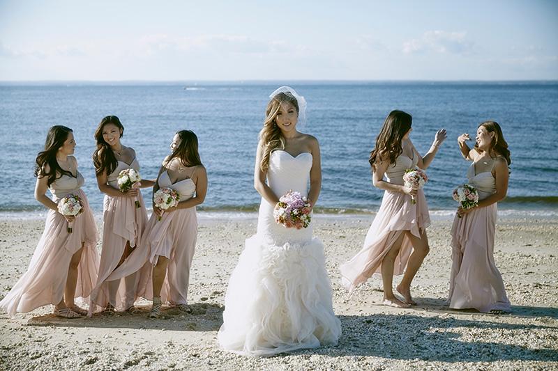 beach bridal party dresses