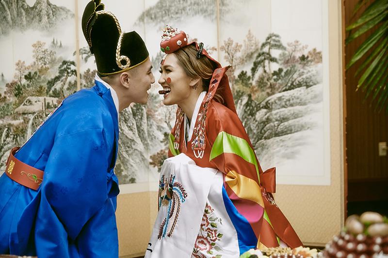 Traditional korean wedding ceremony
